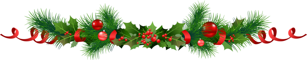 Christmas garland transparent png. Collection of clipart