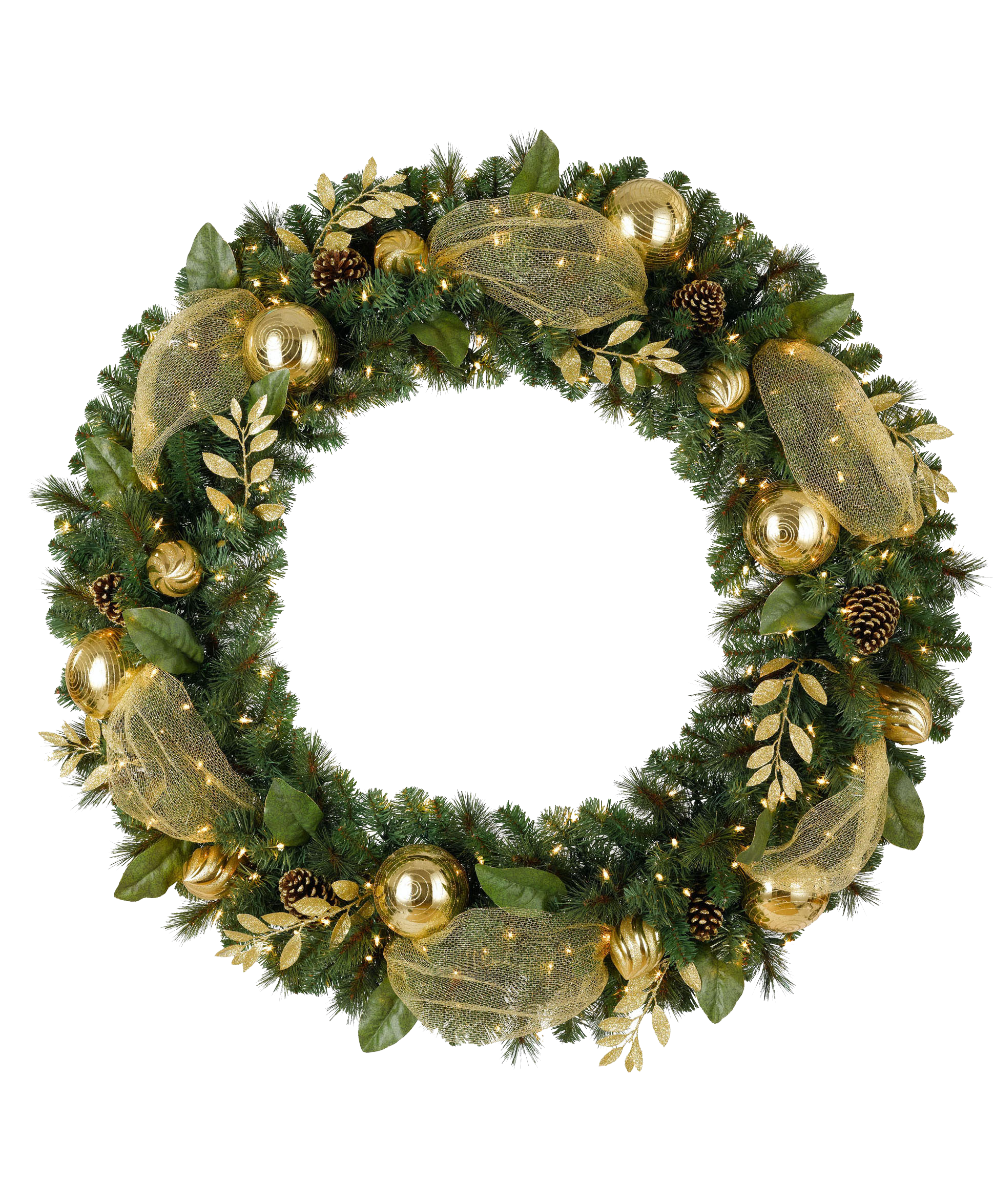 Christmas garland transparent png. Free hd wreath
