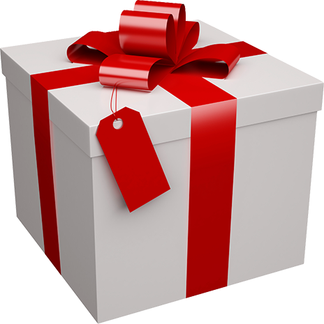 Pile of christmas presents png. Xmas present box by