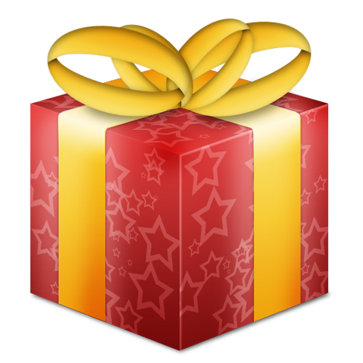 Christmas gift box png. Festive by kyle van