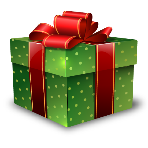Christmas gift png. Images of spacehero icon