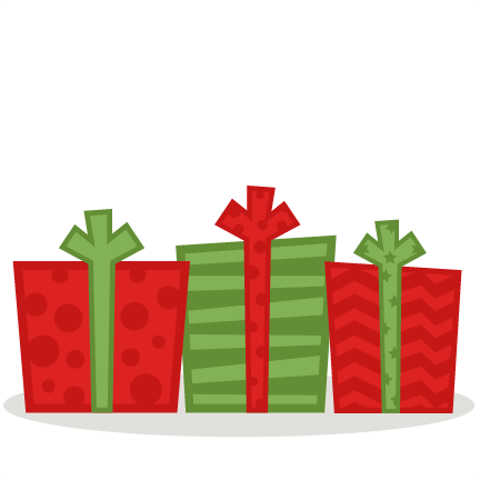 Christmas gifts clipart png. Presents svg scrapbook cut