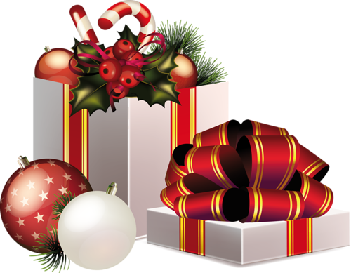 Christmas gifts png. Clip art clipart