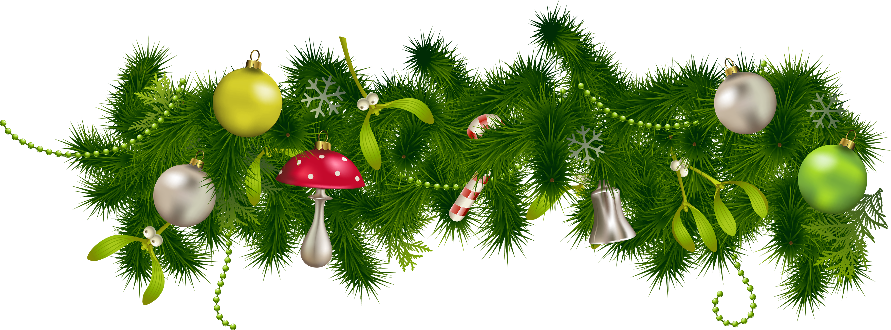 Christmas greenery png. Images download decoration