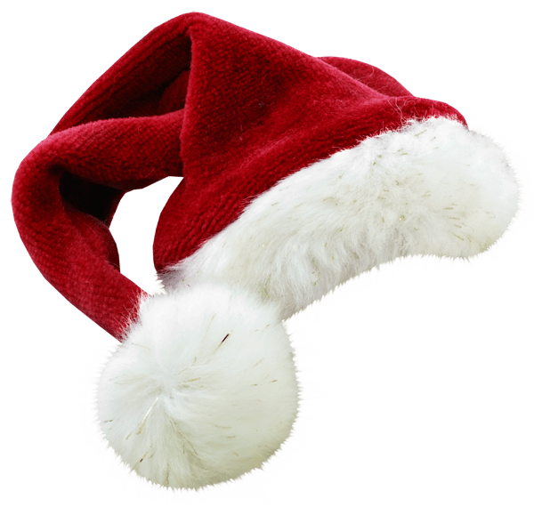 Christmas hats png. Santa claus hat large