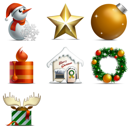 Christmas icons png. Merry free icon search