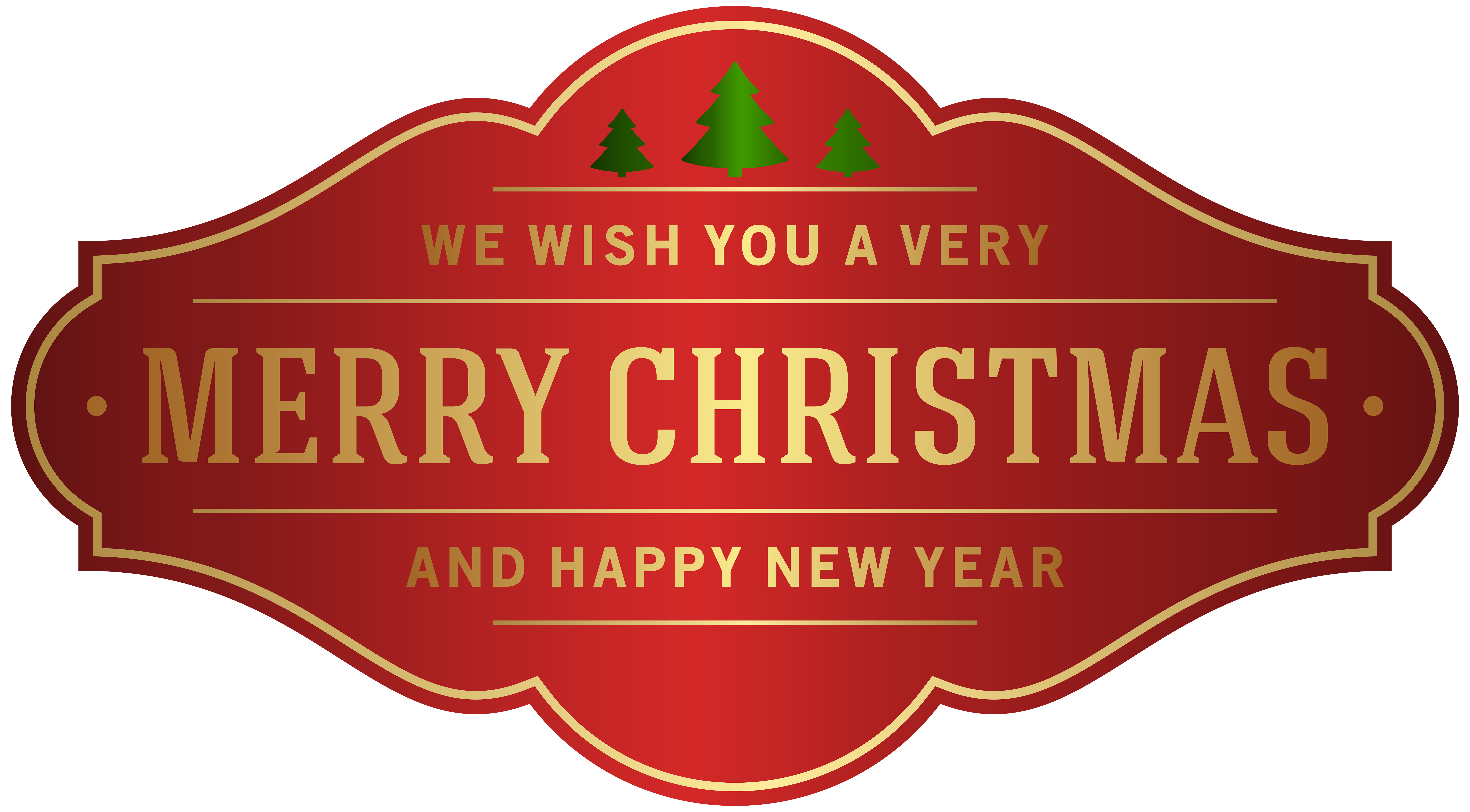 Free label png. Merry christmas clip art