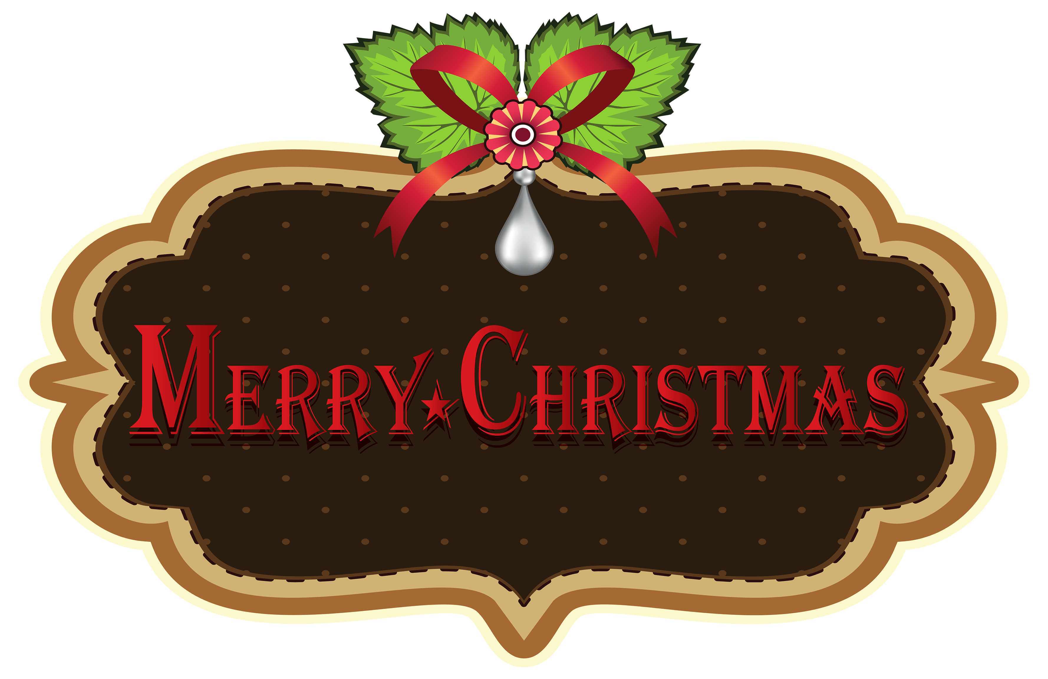 Christmas label png. Merry clipart best web