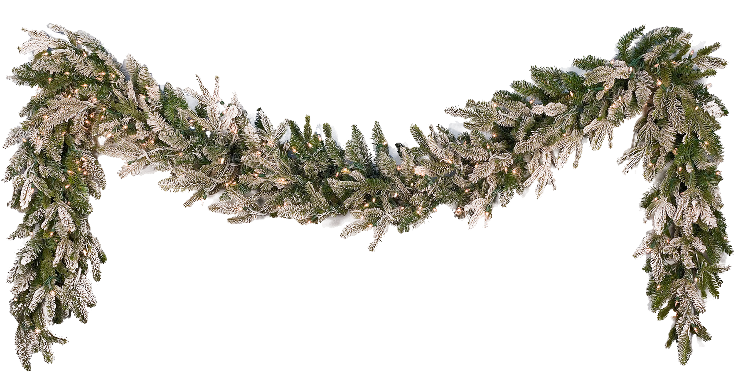 White flower garland png. Transparent images pluspng free
