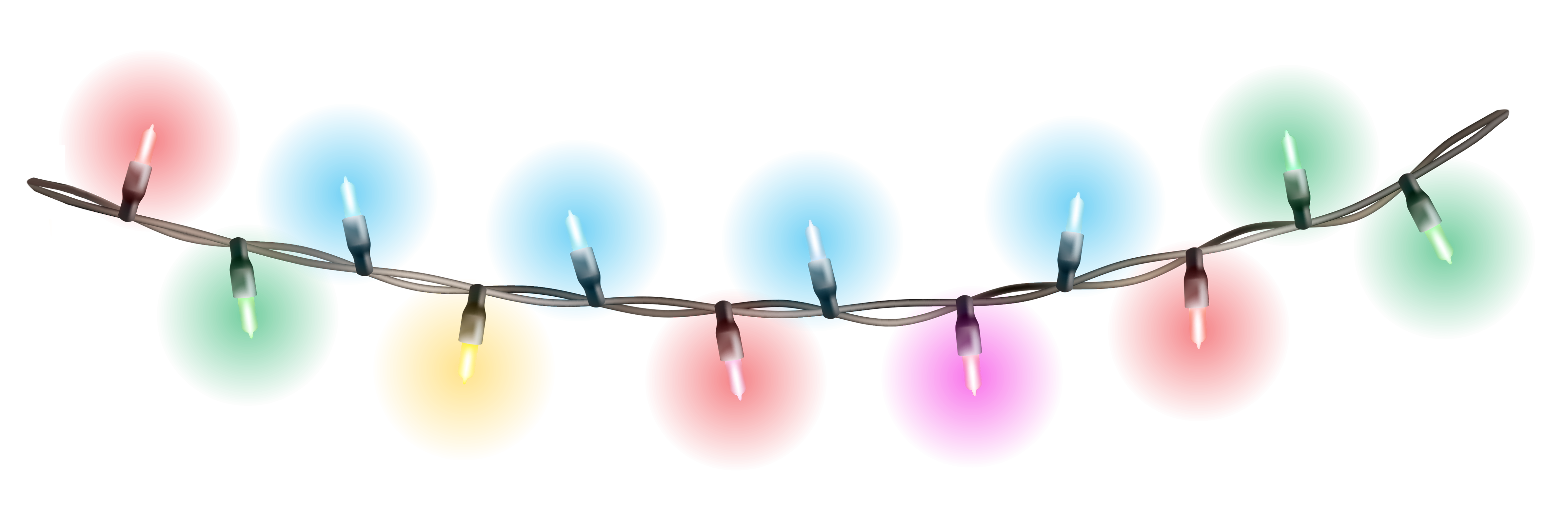 Christmas lights .png. Decoration png picture mart