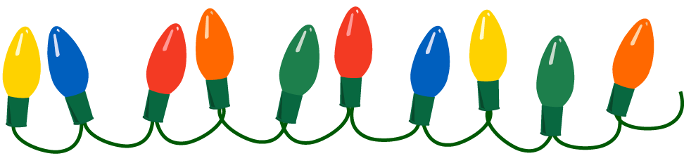 Christmas lights png transparent. Bulb clipart at getdrawings