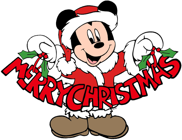 Christmas mickey png. Mouse clip art disney