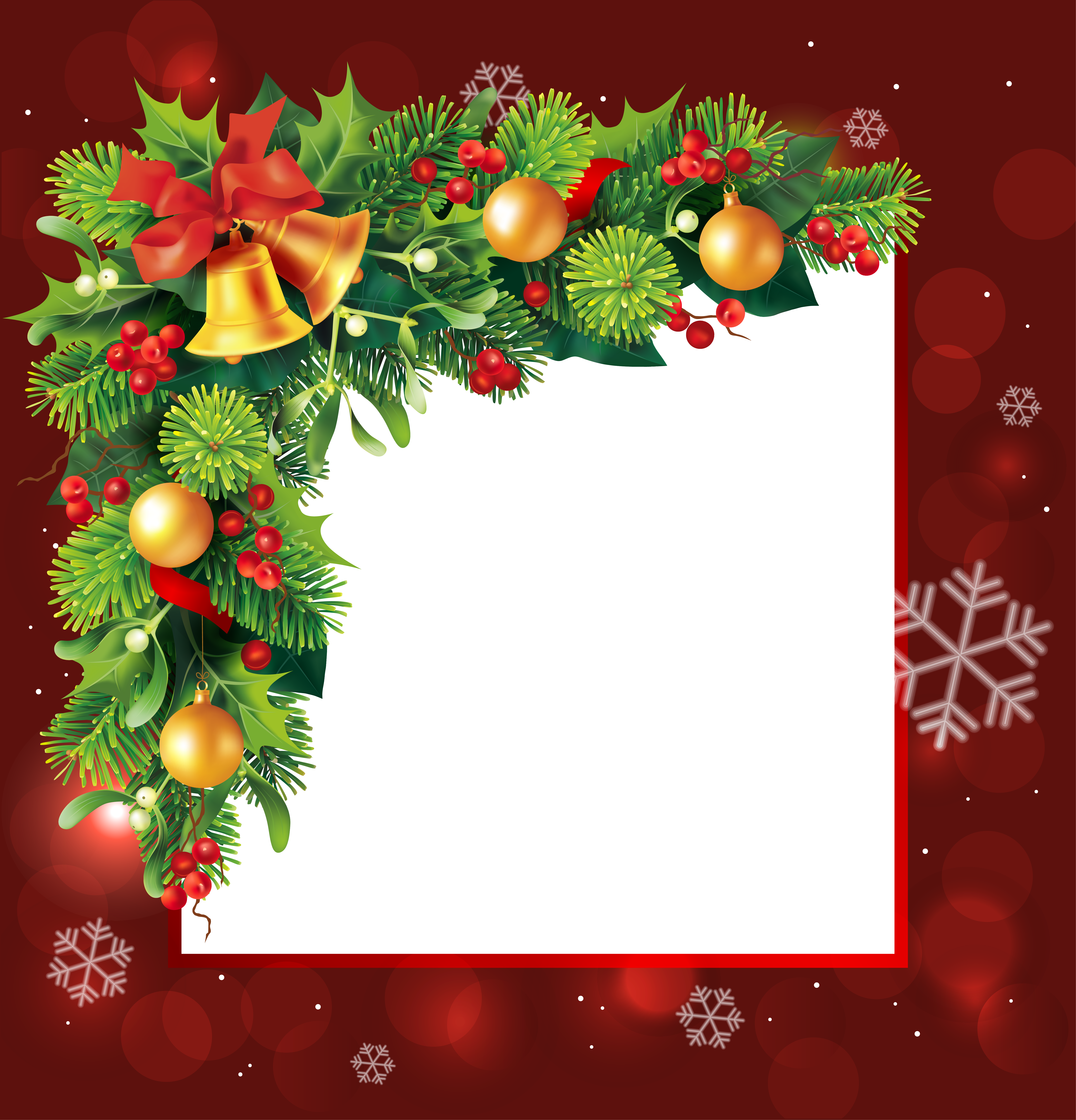 Christmas Card Frame.Christmas Card Frame Transparent Png Clipart Free Download