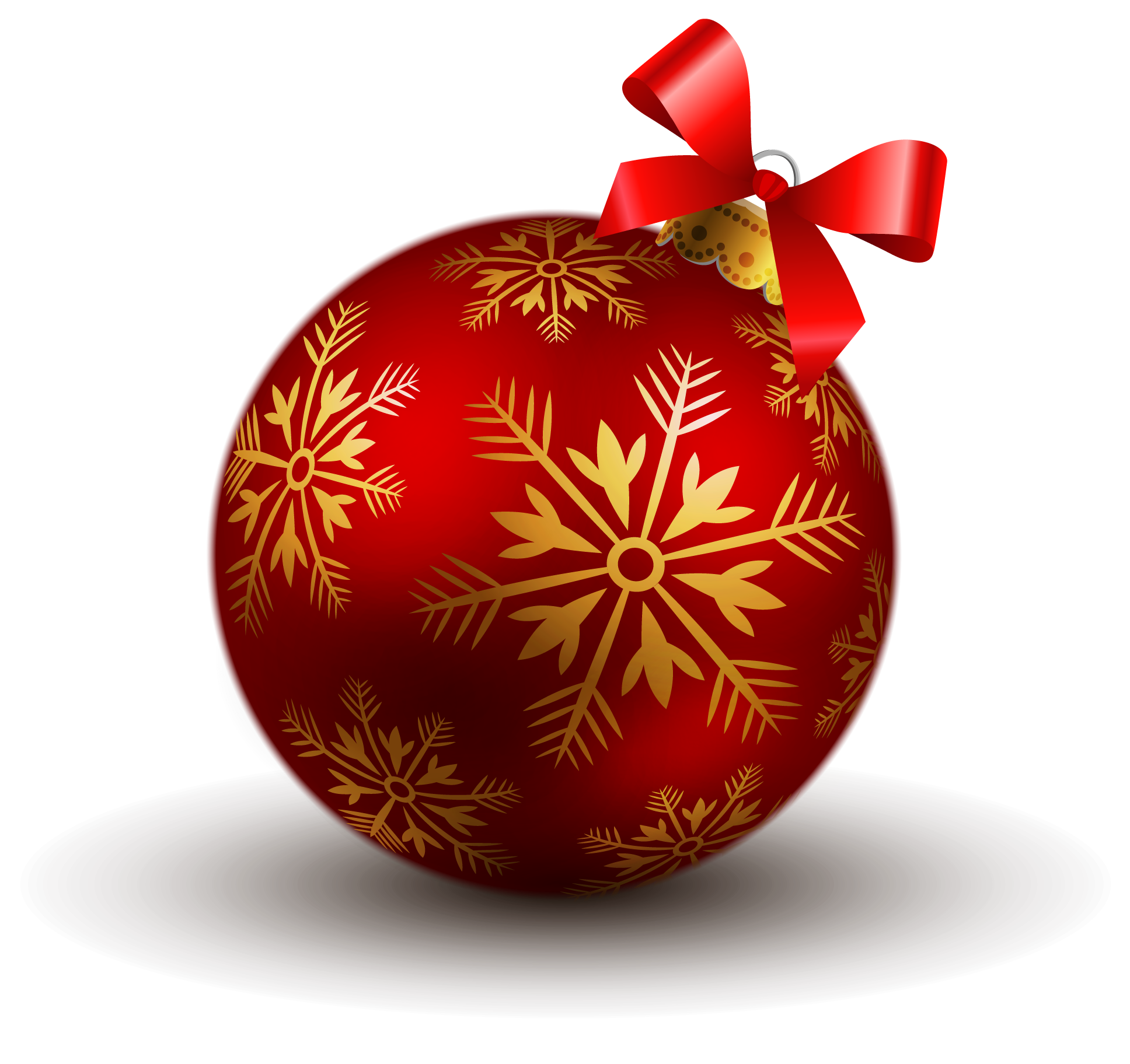 Christmas ornament transparent background png. Red ball clipart gallery