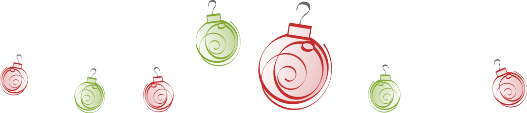 Christmas ornaments border png. Ornament merry and happy