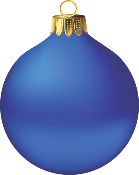 Christmas ornaments clip art png transparent. Blue ornament clipart d