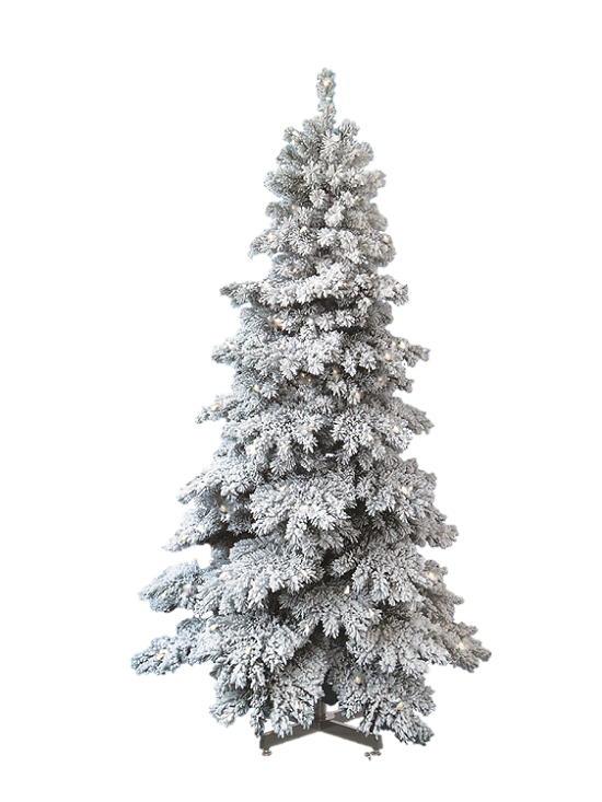 Snow covered trees png. Spruce capped artificial christmas