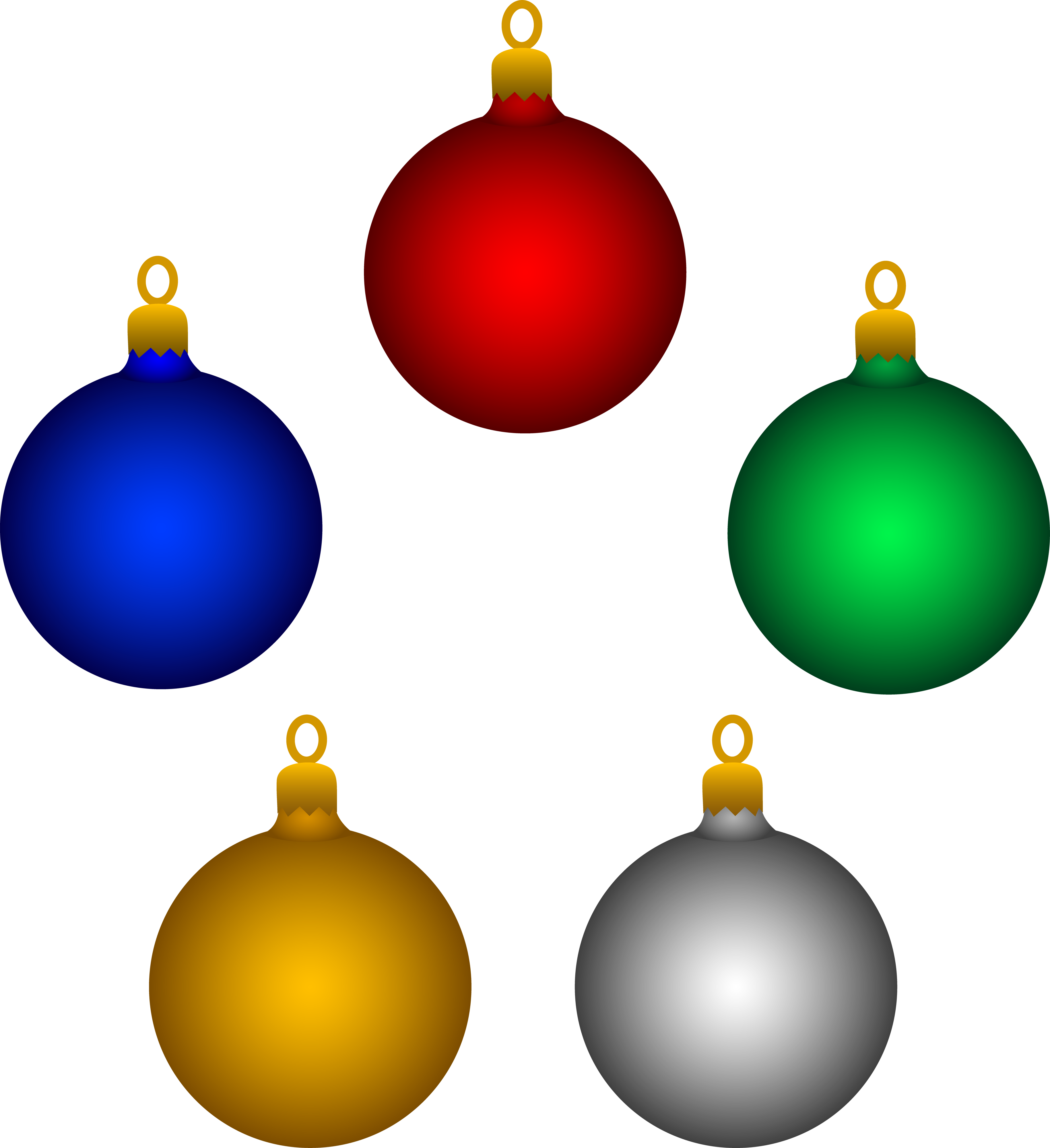 Christmas ornaments png blue and gray. Clipart decorations panda free