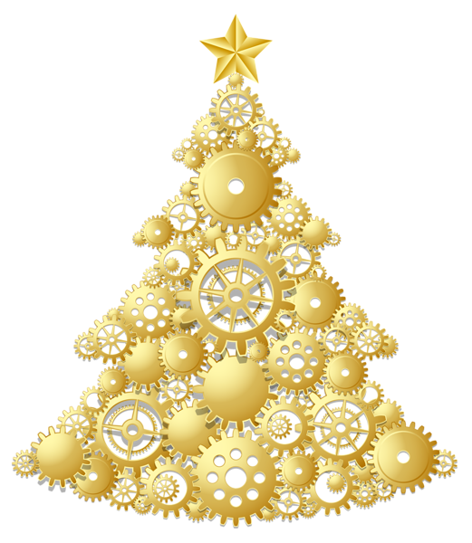 Christmas ornaments png gold. Tree