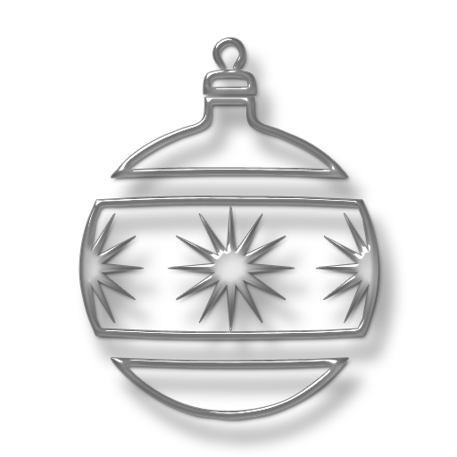 Clear ornament png. Save icon format free