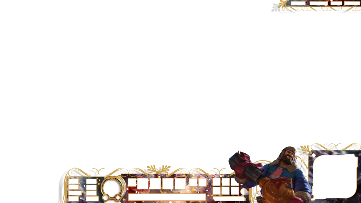 Christmas overlays png. League of legends overlay