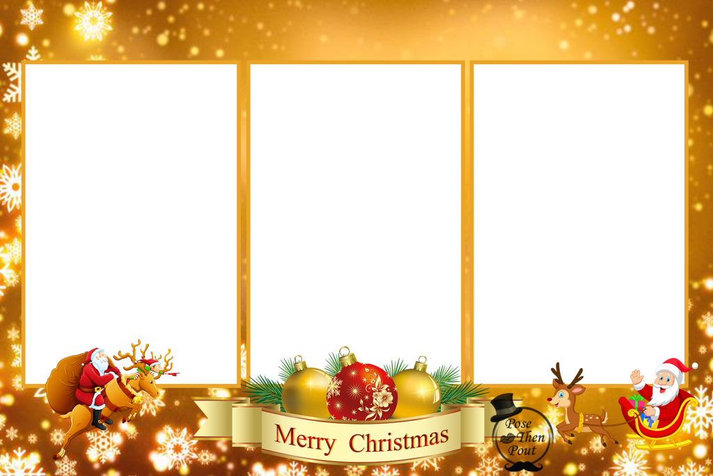 Christmas overlays png. Design gallery merry