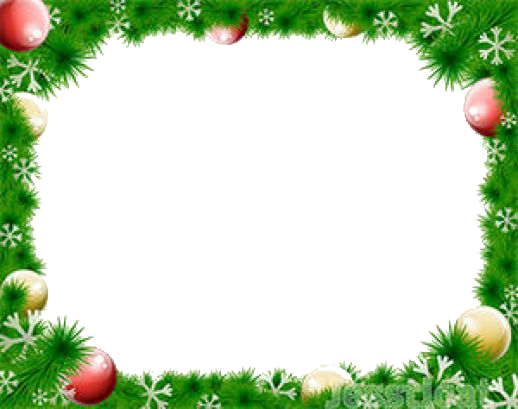 Christmas photo border png. Free download mart