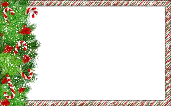 Border png image free. Christmas borders .png graphic free download