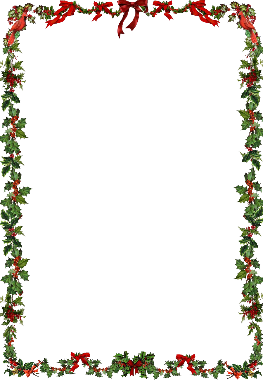 Christmas photo frame png. Clipart mart