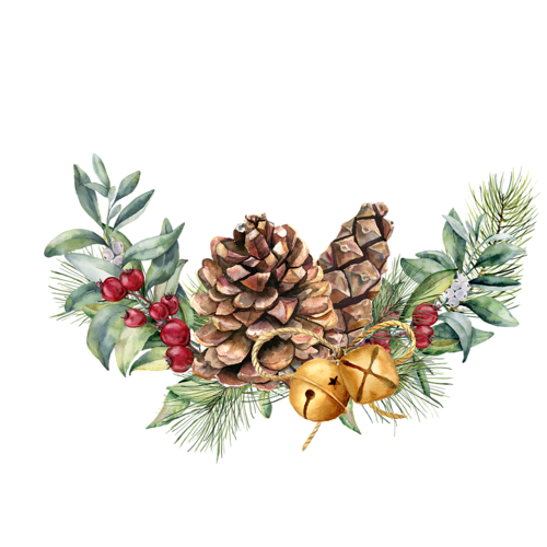 Christmas decorated pine cones png. Pin by xixueer on
