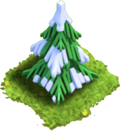 Christmas pine tree png. Image clash of clans