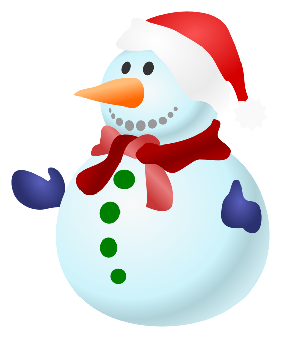 hat svg snow man