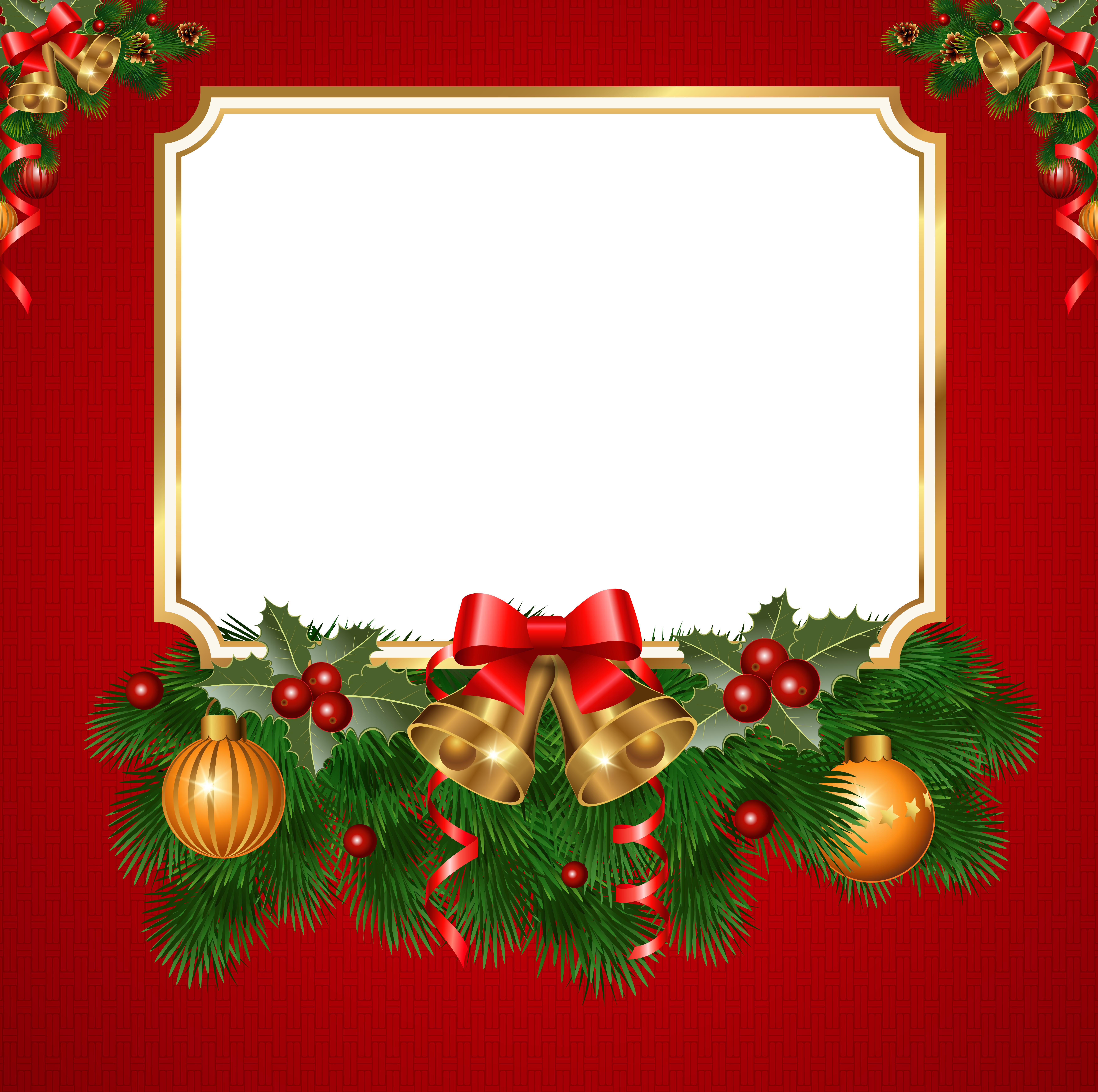 Transparent red frame pinterest. Christmas png borders graphic freeuse