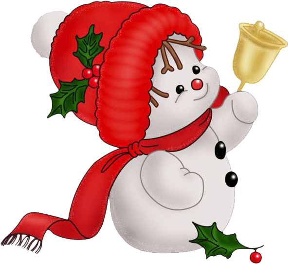 Christmas png clipart. Snowman