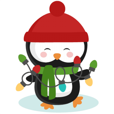 Penguin png christmas. Download cute images background