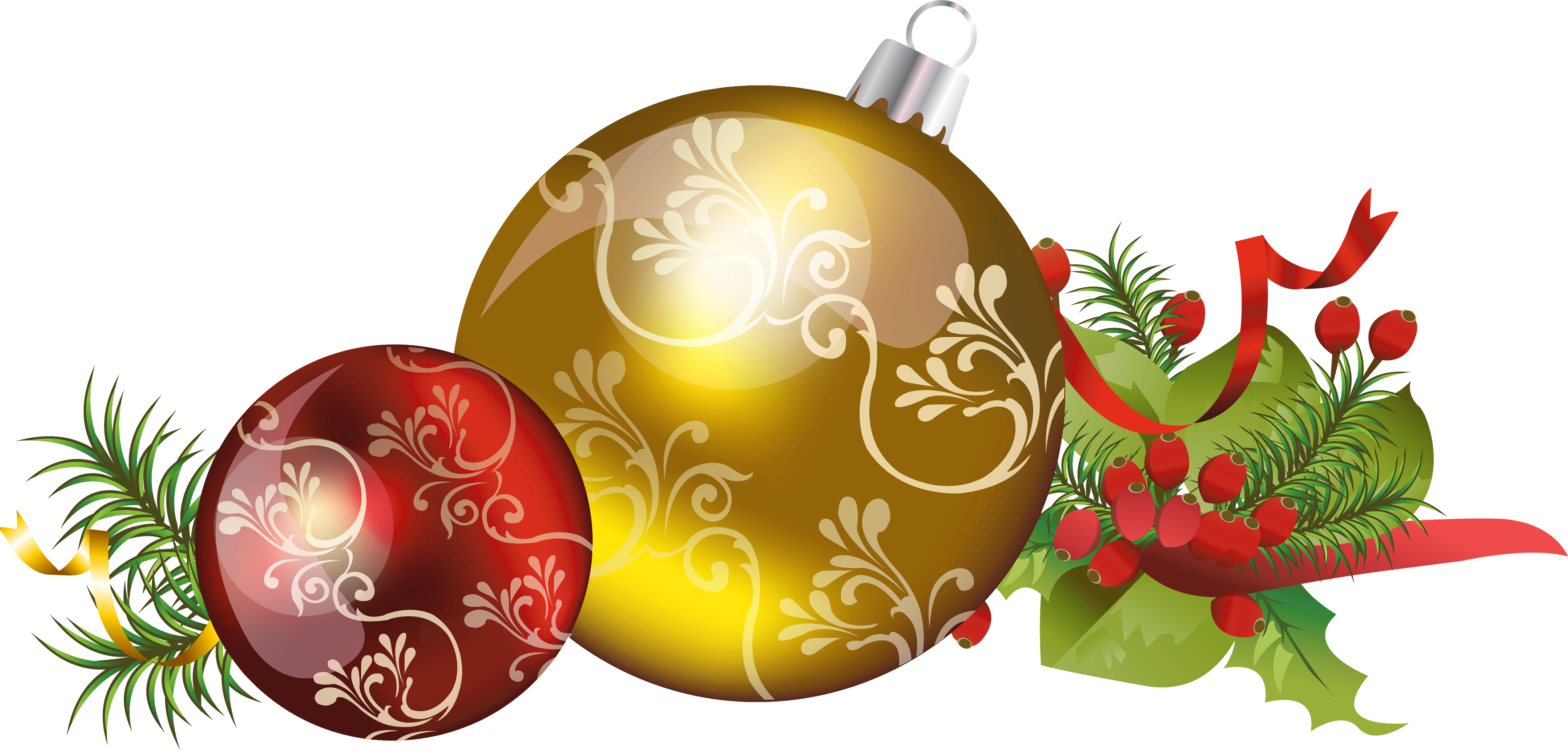 Christmas png files. Images download decoration