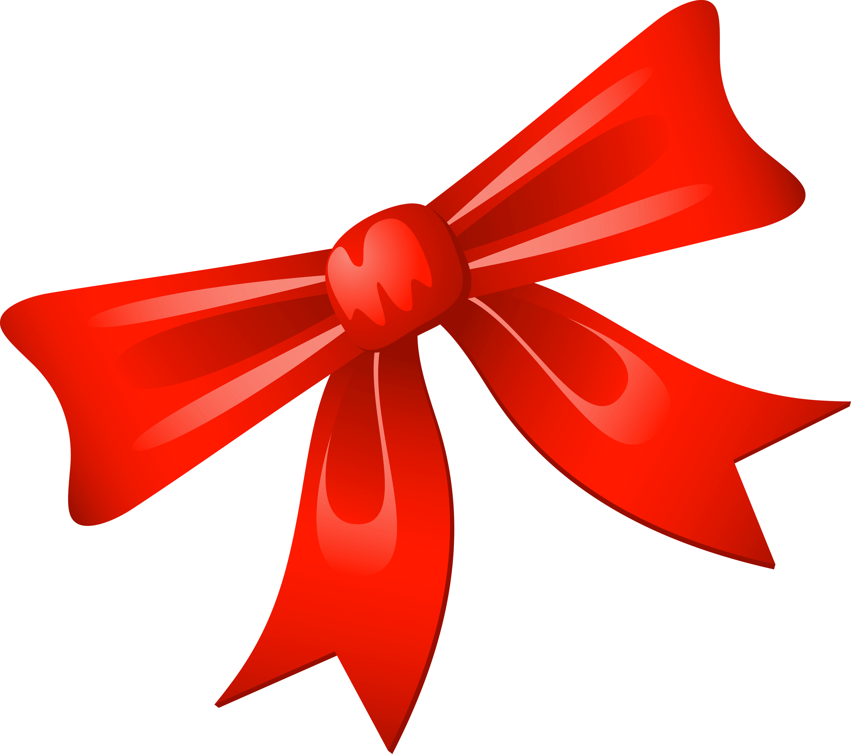 Christmas present bow png. Collection of red