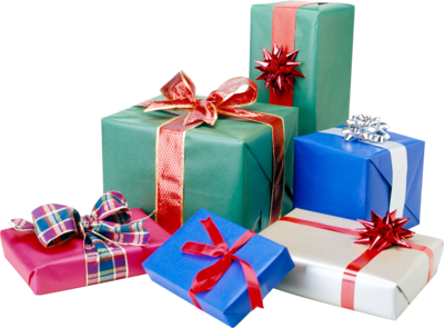 Vector present gift packaging. Christmas png clipart mart