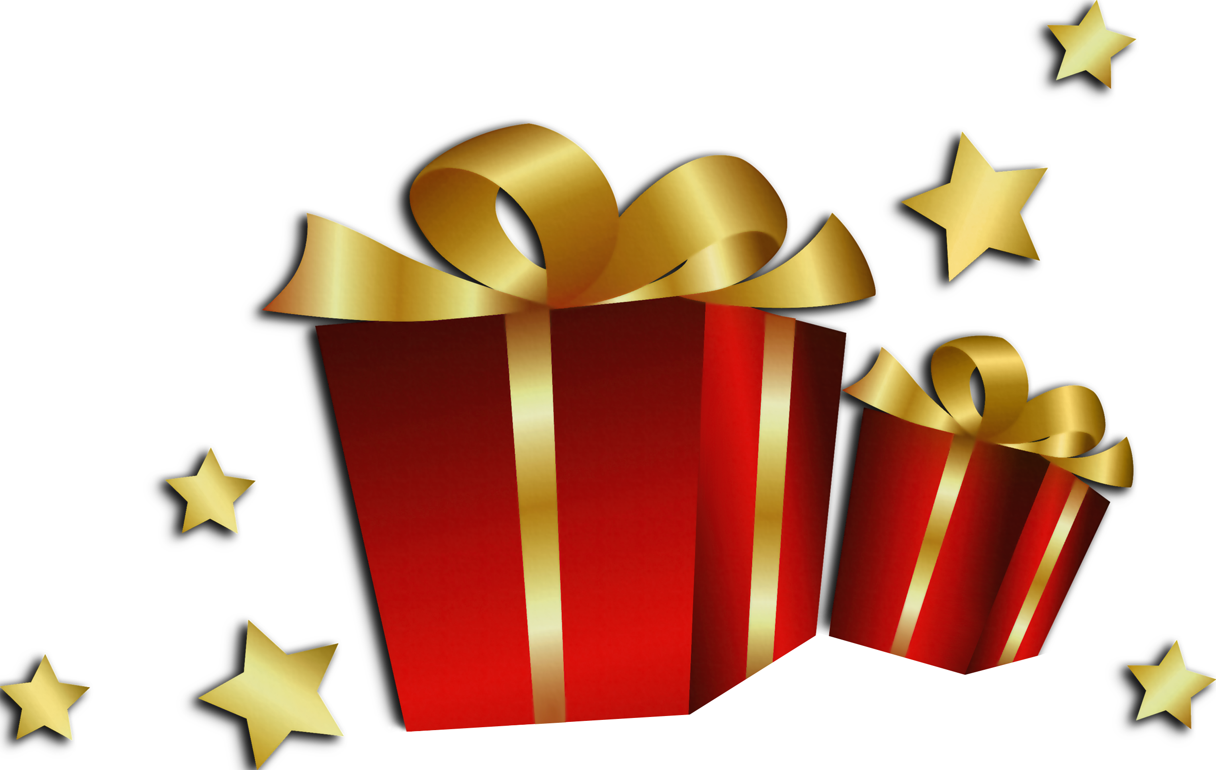 Christmas present transparent png. Red gift boxes gallery