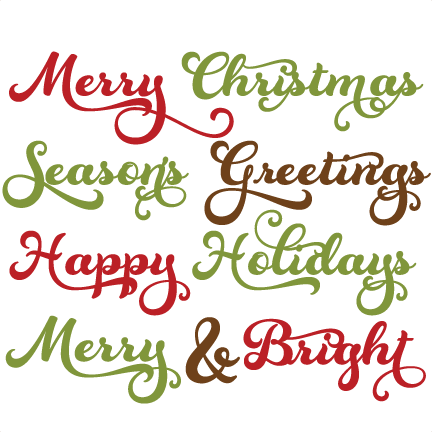 Christmas quotes png. Clipart