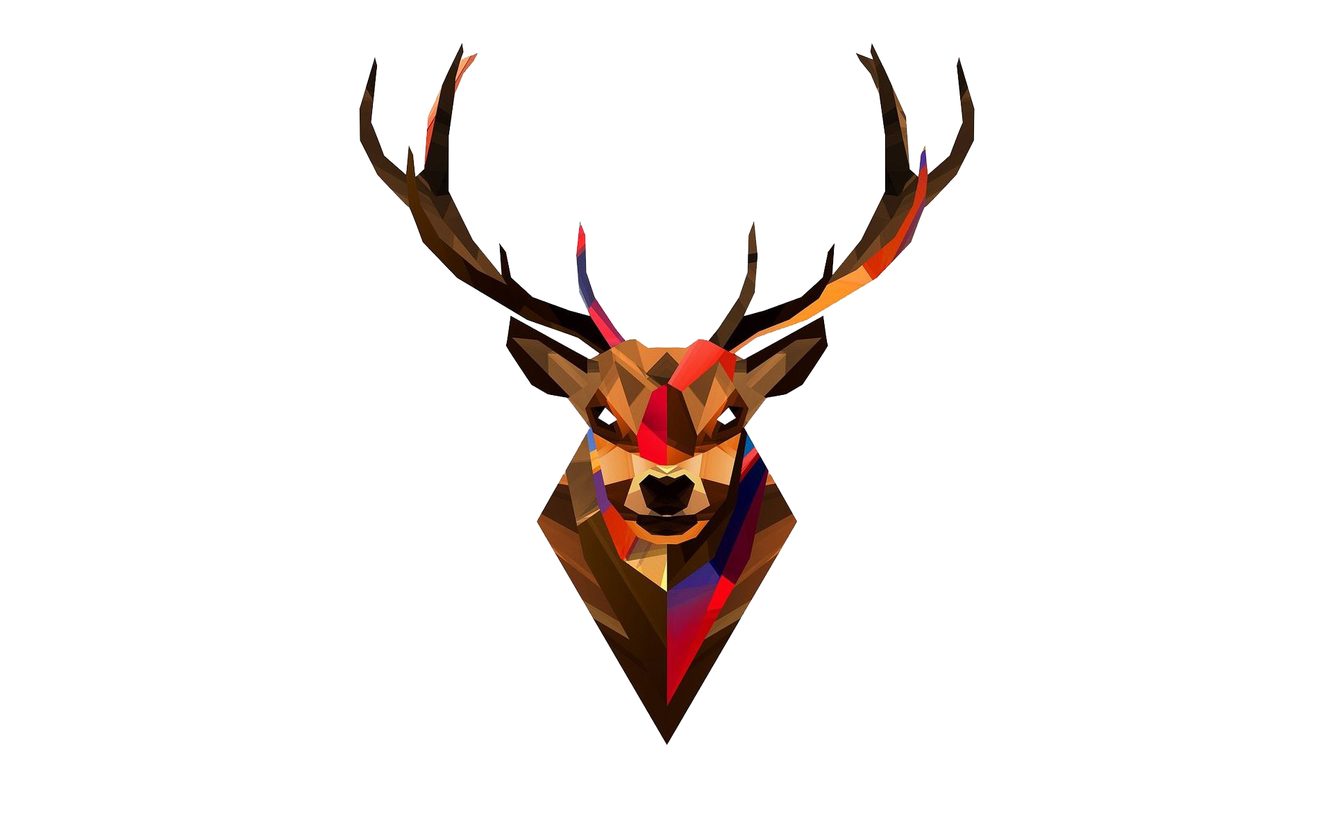 Stag head png