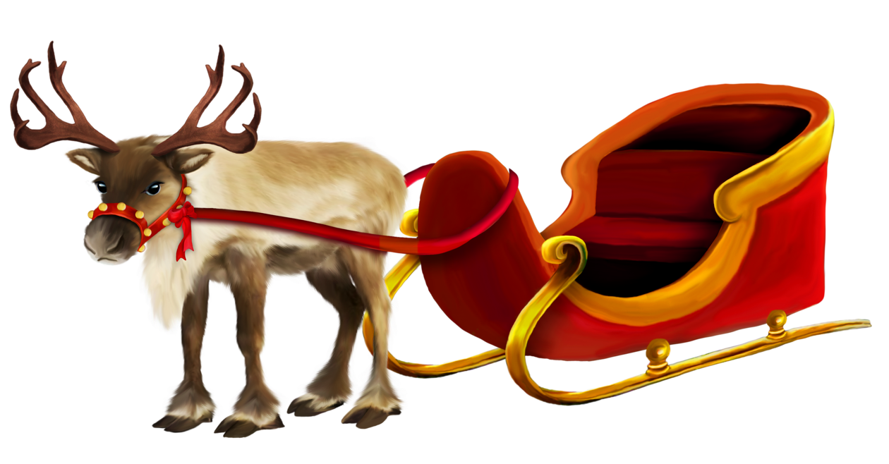 Christmas reindeer png. And sleigh picture gallery