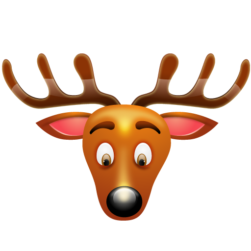 Christmas reindeer png. Stunning icons by iconshock