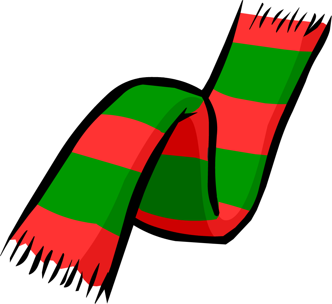 Scarf clipart png. Image christmas clothing icon