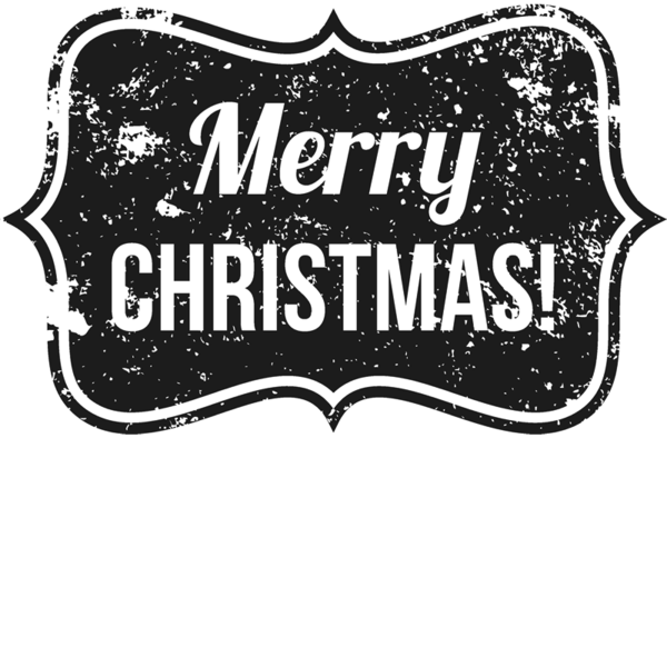 Distressed merry badge rubber. Christmas stamp png image stock