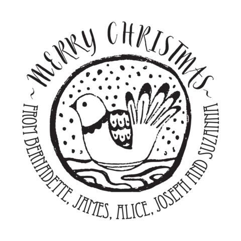 Merry stamptastic uk dove. Christmas stamp png graphic freeuse