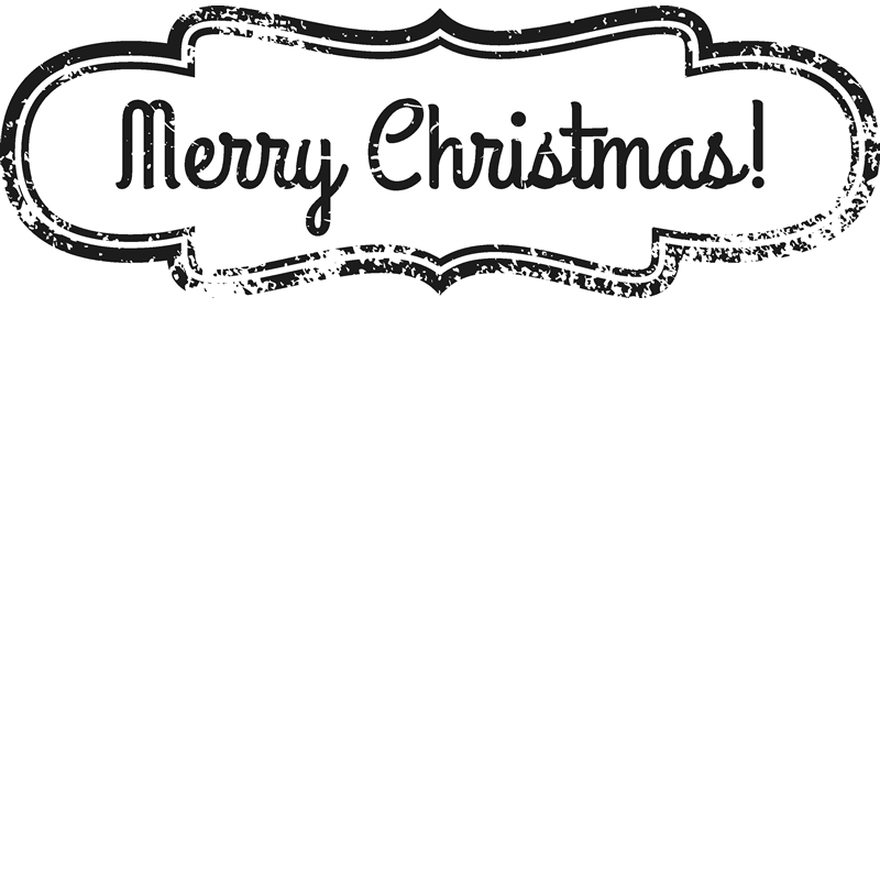 Christmas stamp png. Merry badge rubber stamps