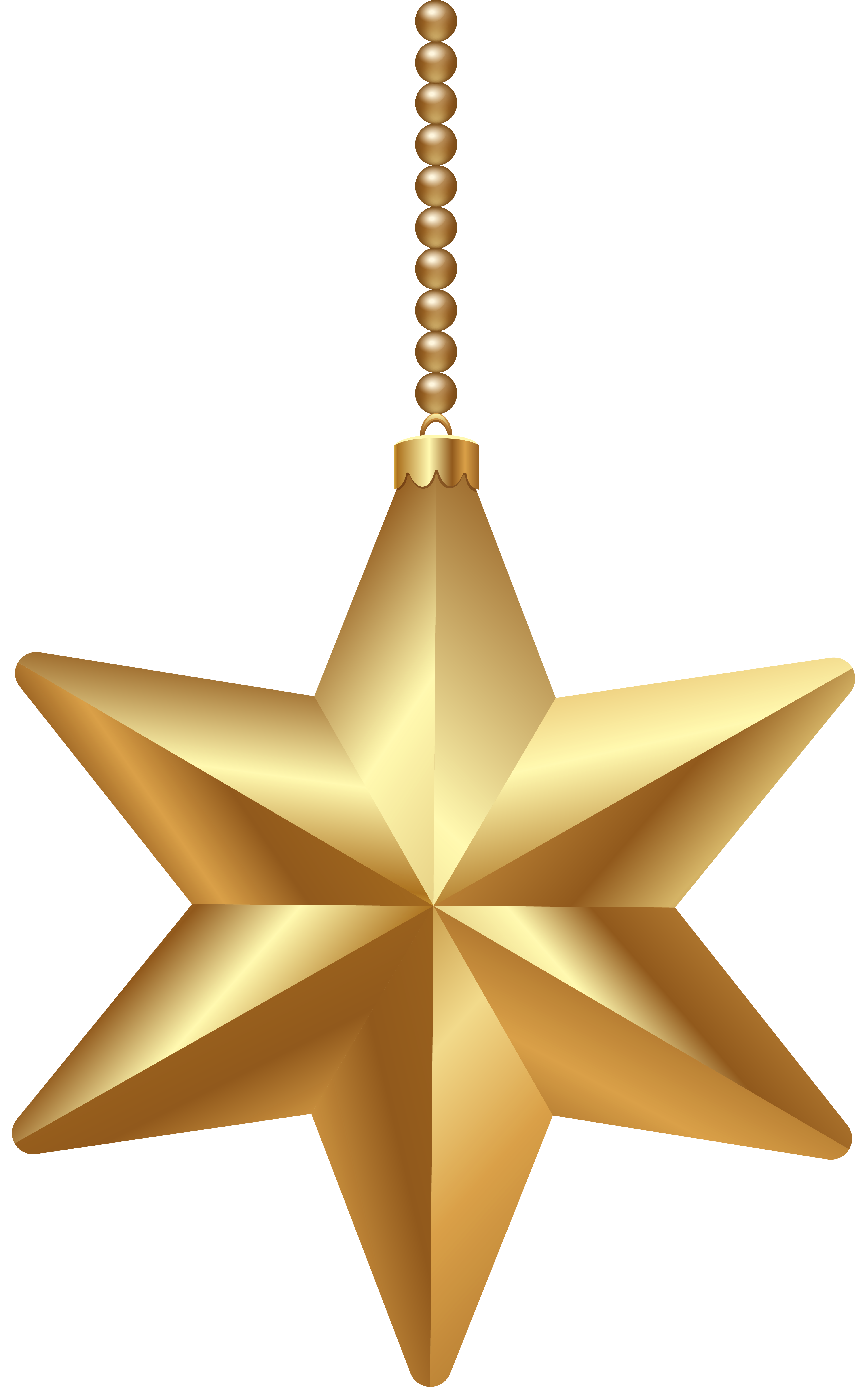 Christmas star png. Gold clipart image gallery