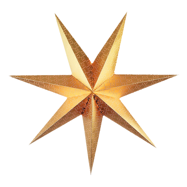 Christmas star png transparent background. Gold image seasonal