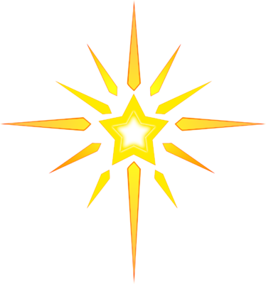 Christmas star png transparent background. Clipart free icons and
